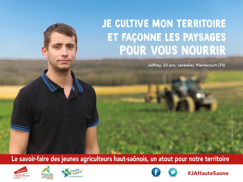 dcouvrez le portrait de joffrey maillot les jeunes agriculteurs bfc